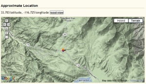 The Mountain Fire / Last updated: 9:48 a.m. 7/16/2013