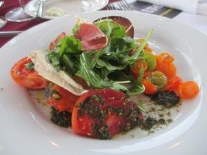 Tomatillo salad