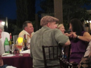 Guests enjoy theater and fine dining in the vines at Europa Village Winery