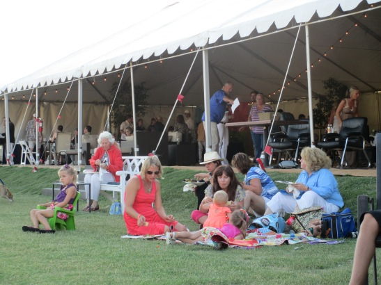 The peaked tent of Temecula Valley Polo Club offers even more amenities this season for members and visitors.