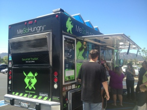 Mesohungry Food Truck just one of three on hand to feed the masses at the Temecula Valley Hospital Community event.