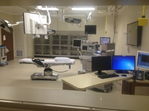 Operating theater at Temecula Valley Hospital