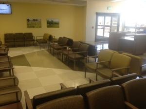 Temecula Valley Hospital Emergency room waiting area.