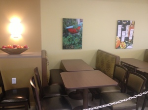 Olive Branch Cafe continues the Temecula feel for Temecula Valley Hospital's restaurant cafeteria.