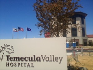 Temecula Valley Hospital opens September, 2013