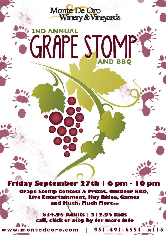 2013 Grape Stomp at Monte De Oro Winery