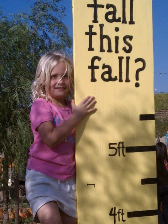 How tall this fall at Peltzer Farms in Temecula