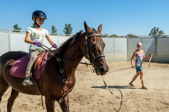 Horseback riding Lessons with Betsy Wallen of Wallen West Farms in Temecula California.