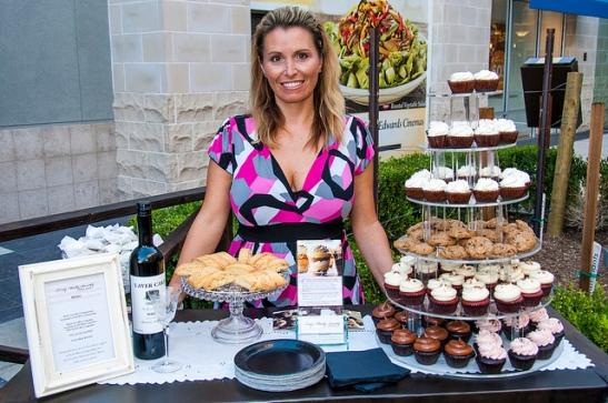 Sweet cupcake treats (c) Crispin Courtenay