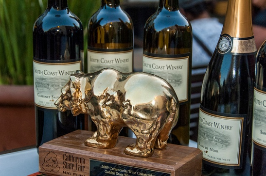South Coast Winery award winning wines