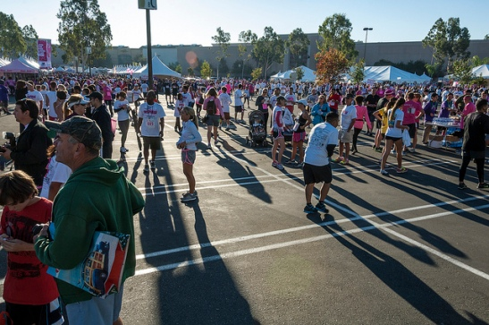 Susan G. Komen Inland Empire Chapter - Breast Cancer Run (c) Crispin Courtenay