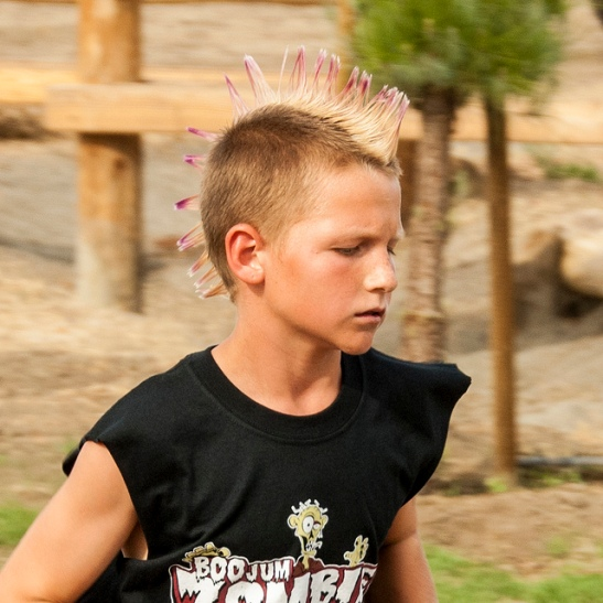 Human runner at Zombie Boojum Run Temecula  (c) Crispin Courtenay
