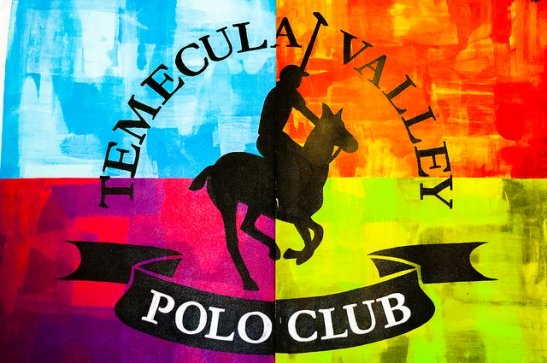Temecula Valley Polo Club - unique artwork at the facility