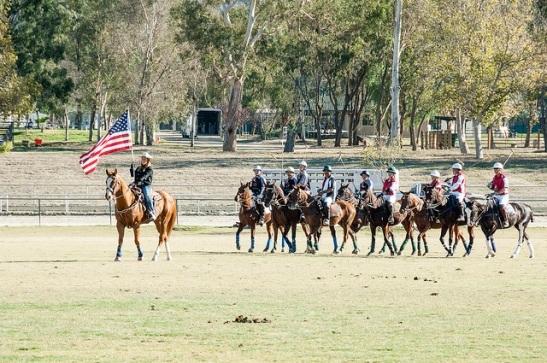 Colors flying at End of season 2013 Temecula Valley Polo Club (c) Crispin Courtenay