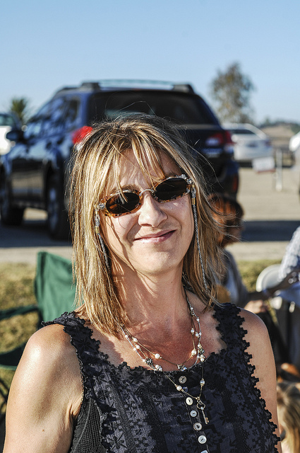 Relaxation at the polo club in Temecula Valley Tailgating style 2013 (c) Crispin Courtenay