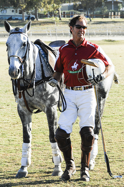 Scott Walker and Pony Temecula Valley Polo Club 2013 (c) Crispin Courtenay