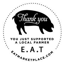 E.A.T. Thank You Sticker
