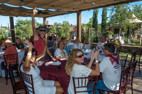 Wine Country Dinner at Europa Village Winery (c) Crispin Courtenay