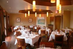 Dining inside Baily's many rooms perfect for rehearsal dinner or special occaision.