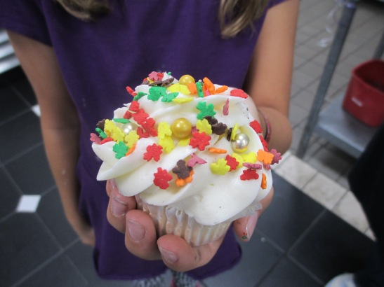 """Fall of Fall"" cupcake splendor. Creativity abounds at AJs Baking Company Birthday party"