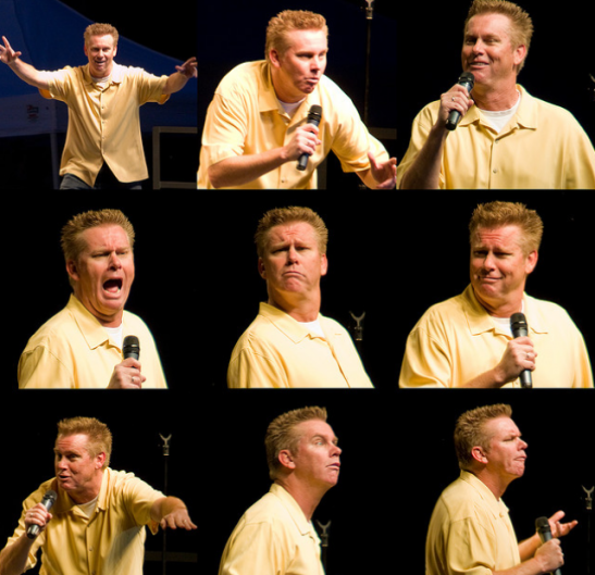 Many Faces of Brian Regan, official photo (c) Jeremy Hall