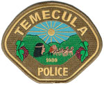 Temecula Police Badge