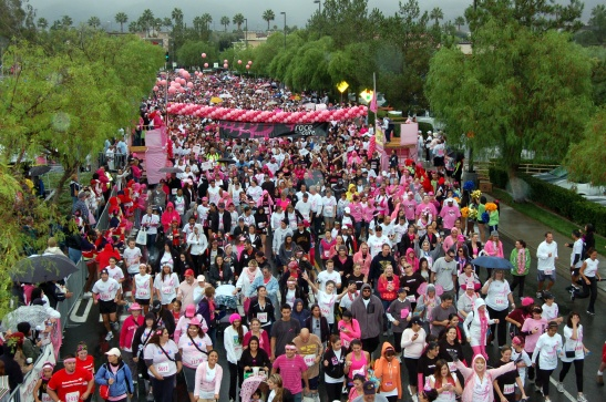 Susan G. Komen Start Line Race for the cure (courtesy photo)