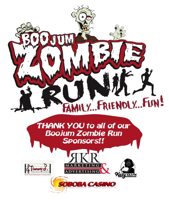 BOOjum Zombie Run 2013 at Galway Downs