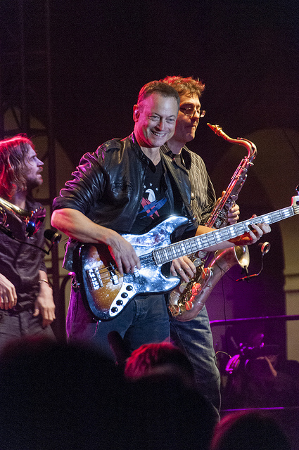 Gary Sinise took the Temecula stage with heart and soul. (c) Crispin Courtenay