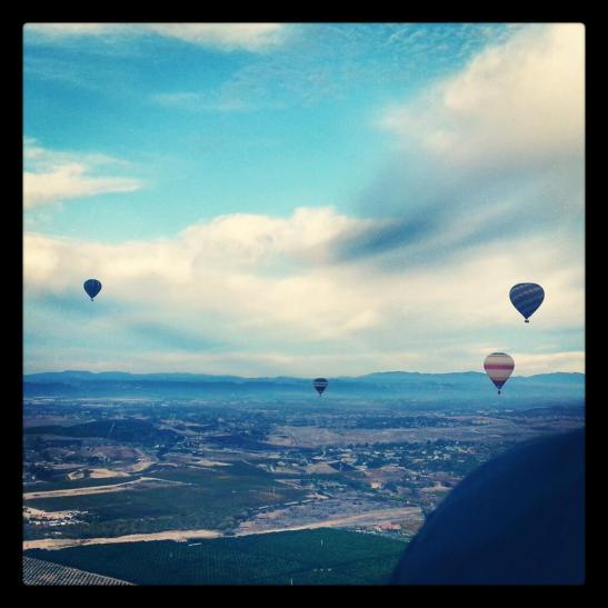 Balloons still rise in Temecula courtesy photo (c) KLHart via Twitter