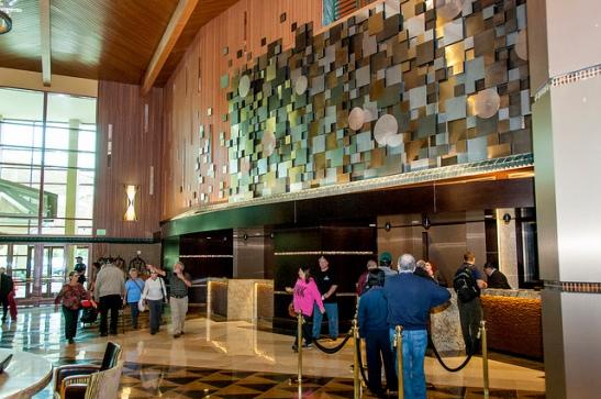 Pechanga Resort and Casino grand opening of new lobby (c) Crispin Courtenay