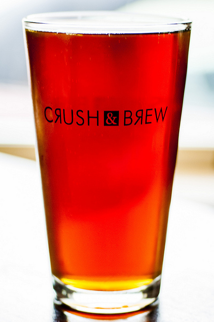 Crush and Brew Beer at Old Town Temecula Restaurant (c) Crispin Courtenay