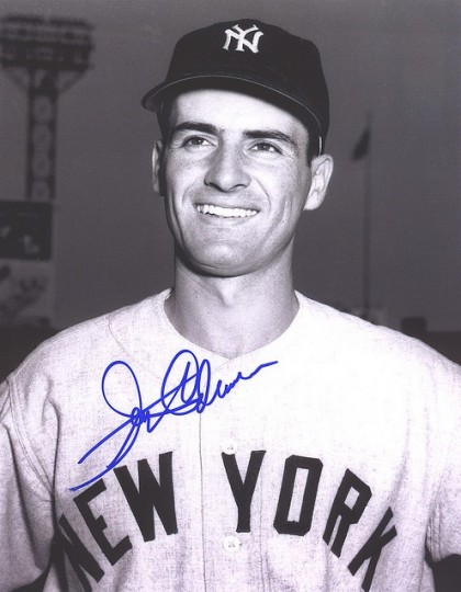 Jerry Coleman as New York Yankee (courtesy photo)
