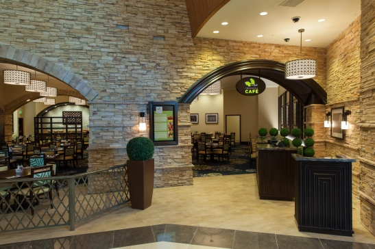 Pechanga Cafe at the new grand entrance of Pechanga Resort and Casino (courtesy)