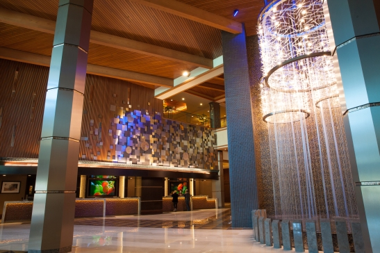 Lobby main entrance completed at Pechanga Resort and Casino (courtesy photo)