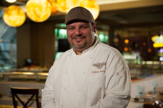 Umi Sushi and Oyster Bar chef Damien Stanley at Pechanga Resort and Casino (courtesy photo)
