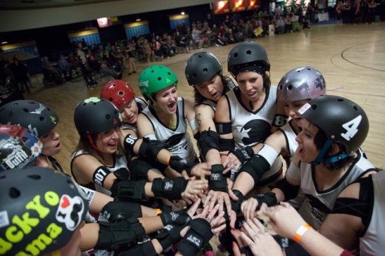Wine Town Rollers Opening Bout at Epic Rollertainment