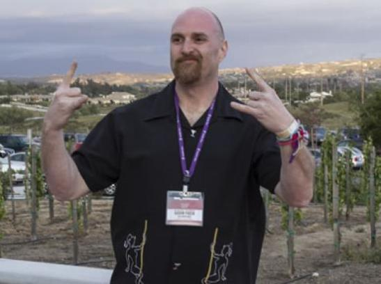 Adam Poch in Temecula Valley Wine Country at Reality  Rally event