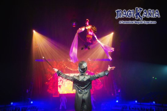 Magic at Circus Vargas (courtesy) Circus Vargas