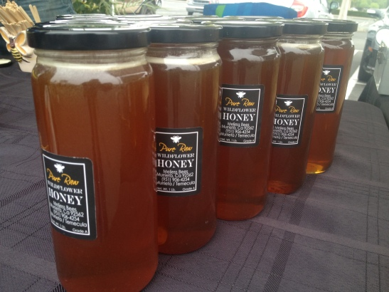 Organic Honey at Promenade Temecula's Wednesday Farmer's Market