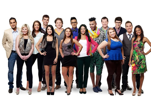 Cast of Big Brother Canada, including Liza Stinton