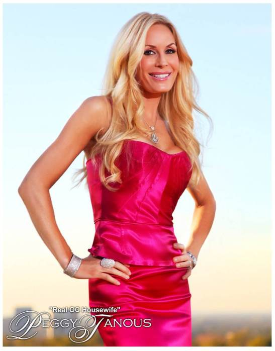 Peggy Tanous of Real Housewives of Orange County (courtesy)