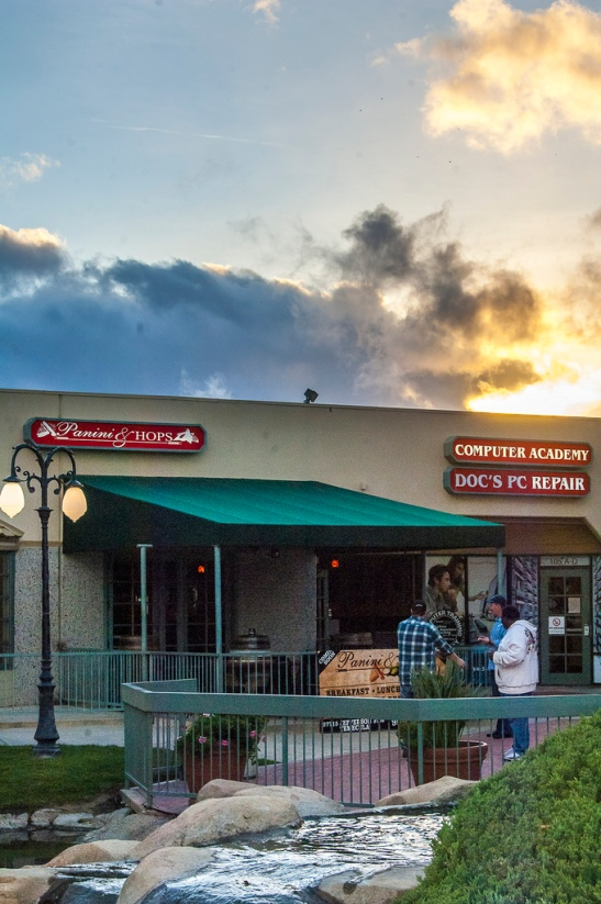 Panini and Hops in Temecula (c) Crispin Courtenay