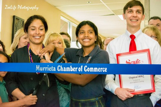 Xiomara Hall at Murrieta chamber of commerce celebration (courtesy)