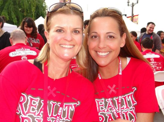Corie Maue and Andrea Maue at 2013 Reality Rally, Temecula (courtesy)