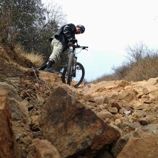 Andres Marin, avid mountain biker, (courtesy via facebook)