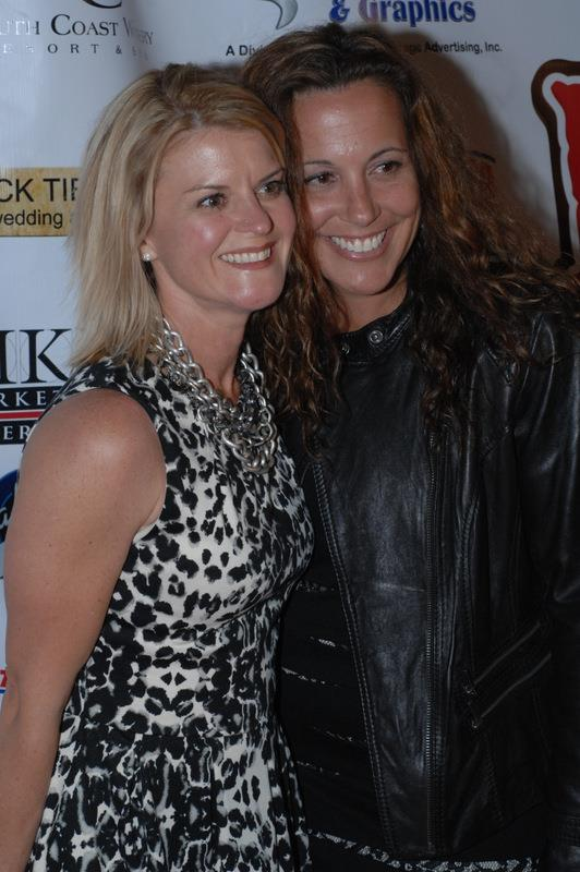 Corie Maue (l.) with Andrea Maue at Celebrity Event, Reality Rally (courtesy photo)