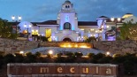 Temecula City Hall lights it up blue for Autism Awareness Month in April, 2014