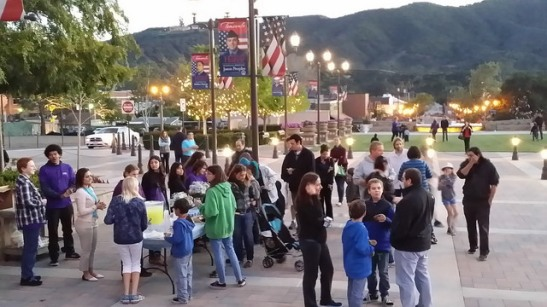 A crowd of 150 special needs families and friends gathered in Temecula