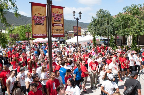 Over 100 Reality television stars and teams gathered in Old Town Temecula for 4th Annual reality rally (c) Crispin Courtenay